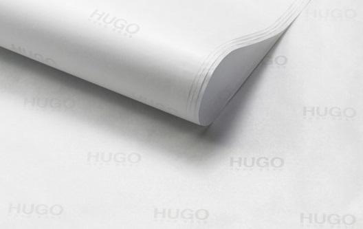 weißes Seidenpapier zum Einpacken